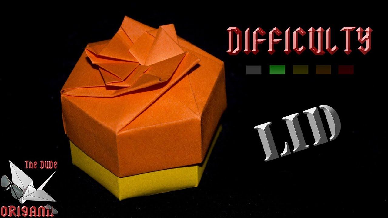 Make An Origami Square Box #1 (Base) (Tomoko Fuse) - YouTube | 720x1280