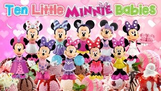 TEN LITTLE INDIANS ♥Toy Nursery Rhyme♥ Numbers Song Disney Baby Minnie Mouse Bowtique