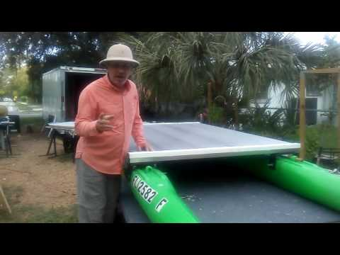 3 fishing kayaks and pontoon boats in one doovi for Fissot fishing kayak for sale