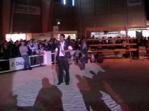 Nationalhymne und Ranz des Vaches - Expo Bulle 2010 am Sonntag