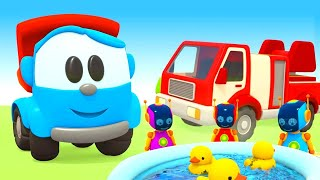 Leo the Truck & new vehicles for kids – Cars and trucks for kids