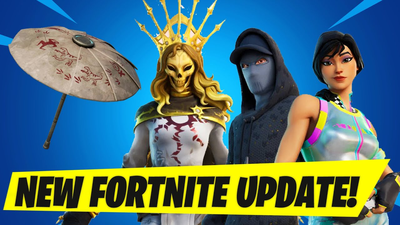 Fortnite Update Today All you need to know about the NEW 1640 update Fortnite secrets Map Changes