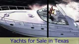 Cruiser Yachts for Sale in Texas including a 1999 Cruiser Yacht 4270 Express on Lake Texoma in Texas