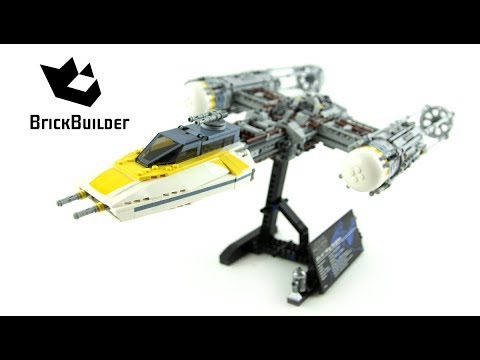 Lego Star Wars 75181 Y-wing Starfighter - Lego Speed Build