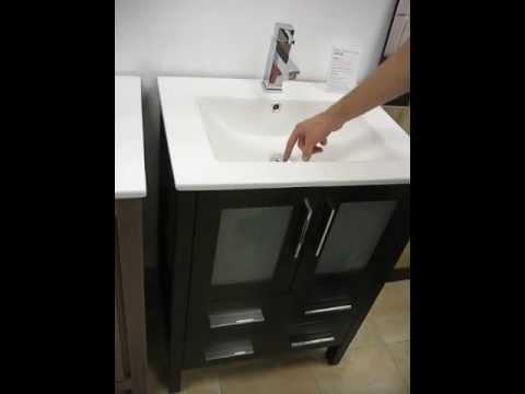 Fresca Torino 24 inch Bathroom Vanity w/ Integrated Sink