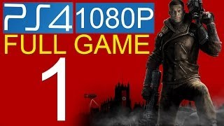 Wolfenstein The New Order Walkthrough Part 1 PS4 1080p HD Gameplay let's play - No Commentary