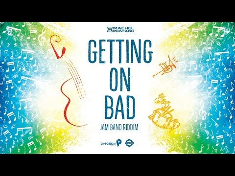 Getting On Bad | Machel Montano | Official Lyric Video | Soca Music 2015
