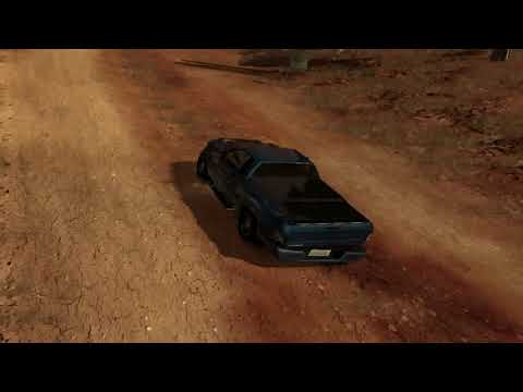 flatout 3 : race with replay 13  (time vs bomb) with my car of canyon