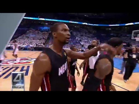 NBA's Top 10 Missed High Fives