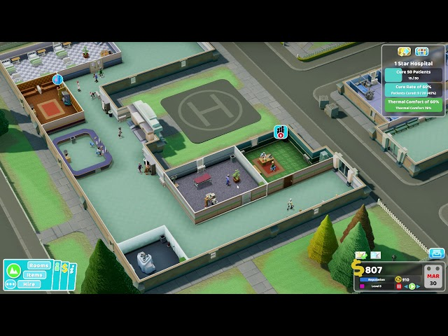 Two Point Hospital - Ep 11 - More Room