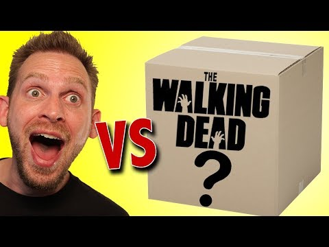 Walking Dead Toys Mystery Box by Megalopolis Unboxing