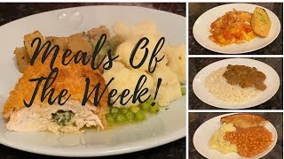 What's for tea this week? Meals of the week 4th-10th November :)