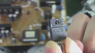 Easy common fix Toshiba LCD TV, troubleshooting dead TV repair review thumbnail