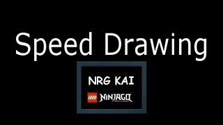 Speed Drawing:(My) NRG KAI LEGO NINJAGO | ASTRID PL