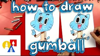 How To Draw Gumball