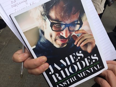 James Rhodes speaks outside the Supreme Court of the United Kingdom
