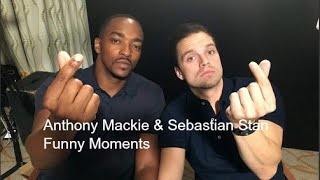 Sebastian Stan and Anthony Mackie Funny Moments