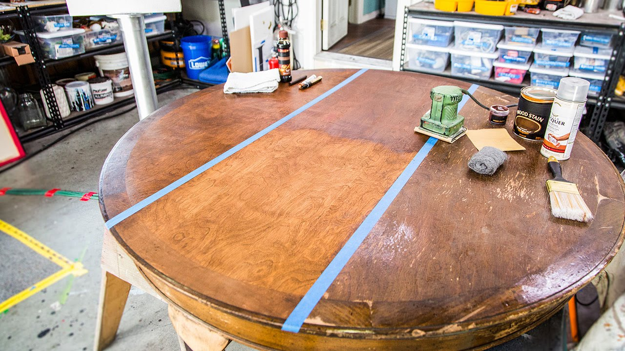 Home Family Wood Furniture Restoration 101 With Mark Steines