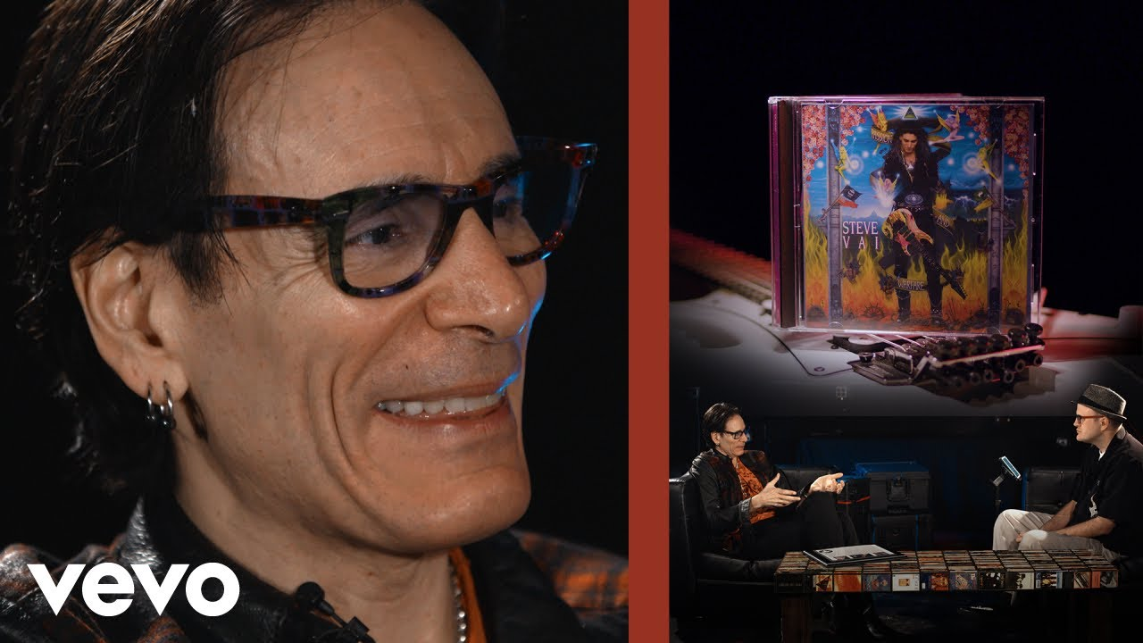Steve Vai's Solution to Mental Suffering