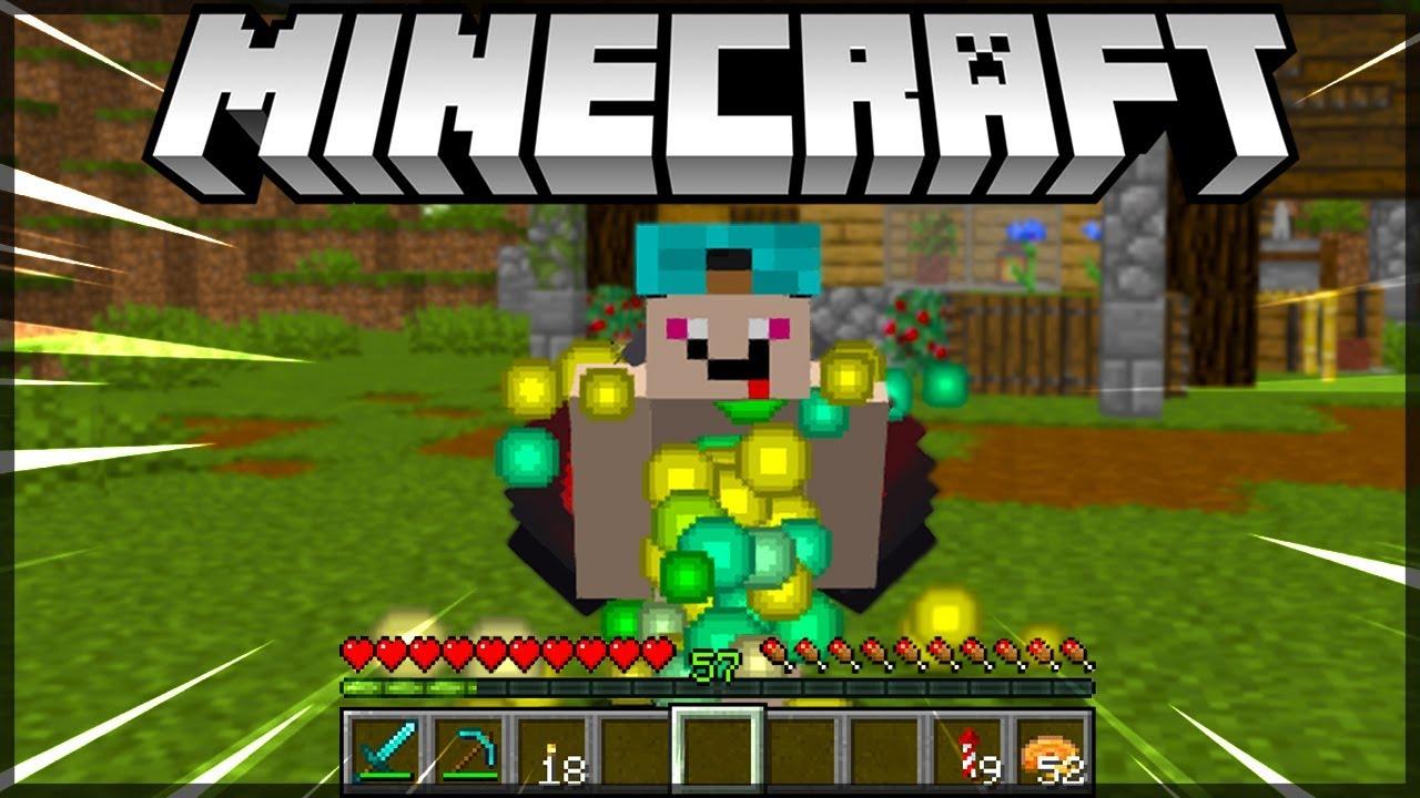 MELHOR FARM DE XP ( 1111 NÍVEIS em 1111 SEGUNDOS ) Minecraft 11.111 / Nosso  Mundinho #111