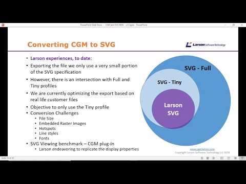 CGM   SVG Webinar   Conversion – Compatibility   Compliance