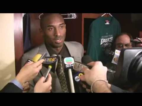 reputable site fe743 d37e7 Kobe Bryant on the Philadelphia Eagles