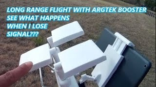 "PHANTOM 3 STD ARGTEK BOOSTER ""WHAT IF I LOSE SIGNAL???"""