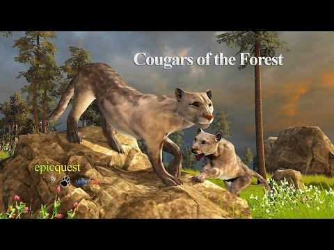 Cougars of the Forest - By Wild Foot Games Role Playing - iTunes/Google Play