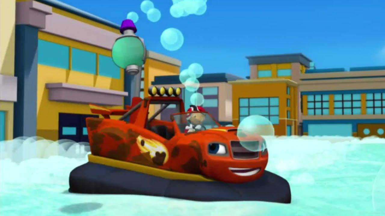 Blaze et les monster machines le canon bulles for Blaze e le mega macchine youtube