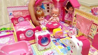 メルちゃん みんなおいでよ!なかよしハウス / Mell chan Baby Doll House Toy