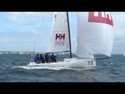 2014 J/70 Worlds - Downwind Decisions