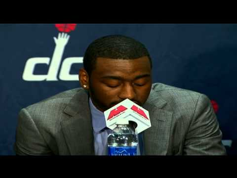 John Wall Emotional Press Conference