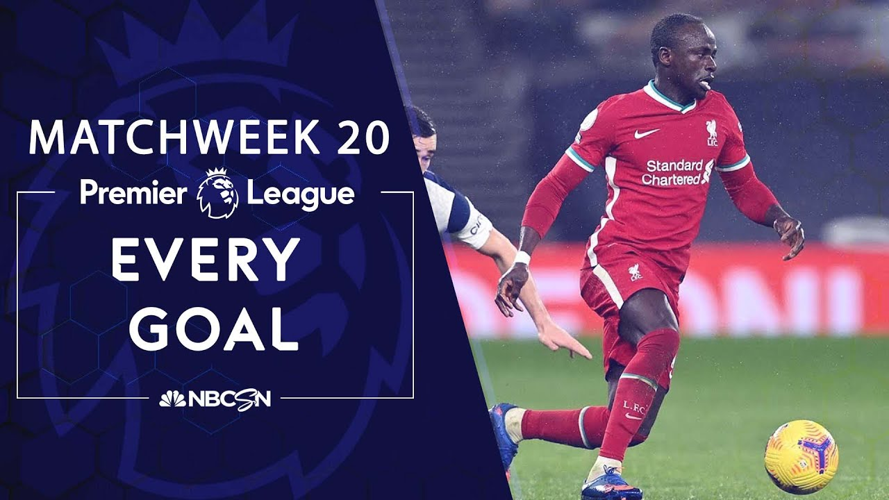 Download Every Premier League goal from Matchweek 20 (2020-2021) | NBC Sports