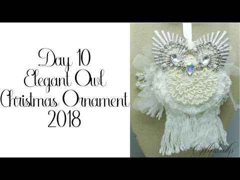 Day 10 Cynthialoowho Christmas Ornaments 2018
