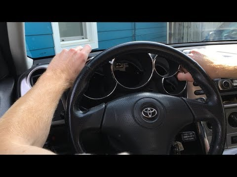Toyota Matrix Instrument Cluster Replacement EASY!