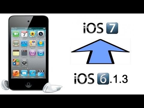 How To Get IOS 7 On IPod 4th Gen