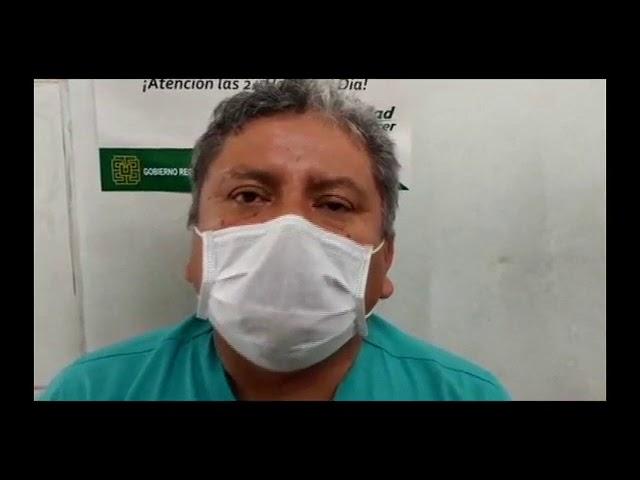 Operan de apéndesis a menor de 11 años con Covid-19 en Barranca