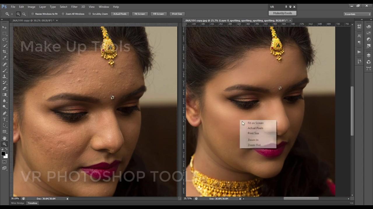bridal makeup photoshop