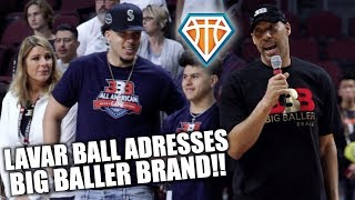 LAVAR BALL IS A REAL ONE!! | Talks Big Baller Brand CONTROVERSY & PRIORITIZING Family