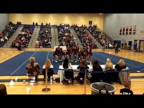 Pulaski County High School 4A North Cheer 2014