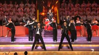 Grease the Musical cast perform @ Carols In Domain 2013