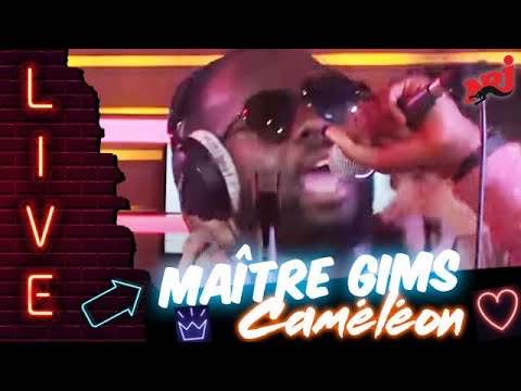 Caméléon chanté en live par Maître Gims - Guillaume Radio sur NRJ