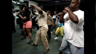 "Southside Steppers Atl Soulful Hype Linedance Class ""Booty Work Line Dance"""