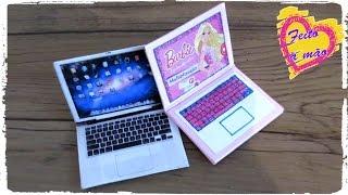 notebook para barbie e outras bonecas diy