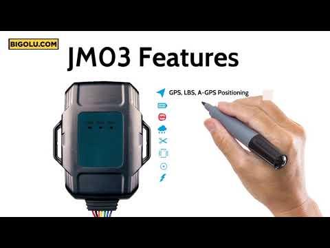 JM01 Waterproof Vehicle GPS Tracker