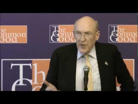 Senator Alan Simpson talks Fiscal Cliff at The Common Good