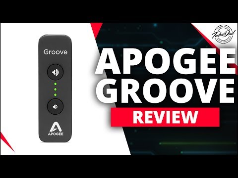 apogee groove usb dac review | add a dac to your computer!