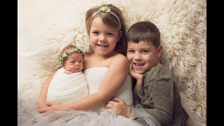 Newborn Session Video Making Of-Baby Summer