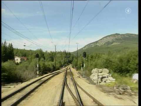 World railways. Norway. Gol - Myrdal