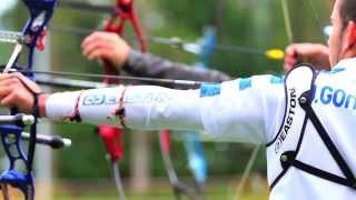 Tiro con arco. Campeonato de España 2013 a 70 metros Castejón de Sos. Música: Mikael Akerfeldt